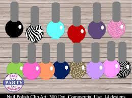 lipstick and nail polish clipart make up nail by jennyldesignsshop