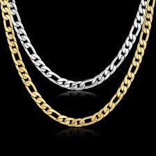 necklace chains wholesale images Hiphop embossing stamp male necklace chain wholesale new yellow jpg