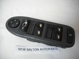 citroen electric citroen c5 drivers door electric window switch pack