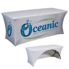 Custom Table Cloths by Custom Tablecloths Printed Table Covers For Advertising Trade