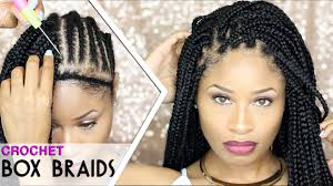 crochet braid hair how to crochet box braids looks like the real thing free