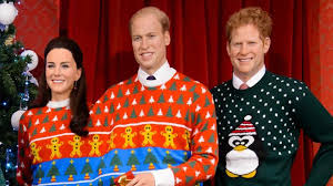the royals get into the spirit with festive sweaters kinda