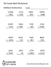 5th grade algebraic expressions worksheets fifth grade math worksheets