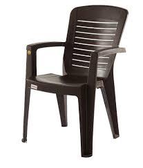 Plastic Chairs For Sale In Bangalore Varmora Premium Chair Set Of 4 Horiz Ergo Brown Buy Varmora