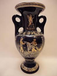 Aphrodite Vase Poseidon Athena Dionysus Aphrodite Ancient Greek Art Pottery Vase