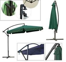 Camo Patio Umbrella by 10 Feet Hang Over Parasol Side Pole Umbrella Garden Patio Umbrella