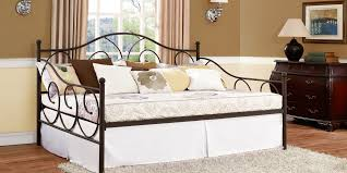 bed daybed full size frame unique full size iron daybed frame