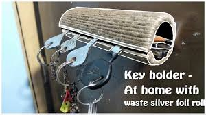 Easy Life Hacks How To Make Key Holder Very Easy With Waste Life Hacks Diy