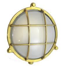 Industrial Flush Mount Lighting Porthole Light Industrial Traditional Mid Century Modern