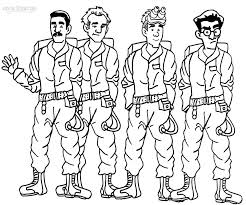 ghostbusters coloring pages getcoloringpages