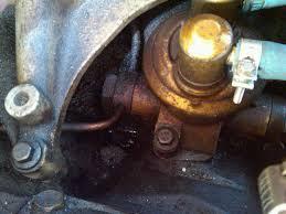 fuel pump leak or banjo lines leaking diesel forum