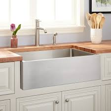 Stainless Steel Farm Sinks For Kitchens 27 Optimum Stainless Steel Farmhouse Sink Kitchen