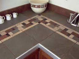 kitchen countertop tile design ideas ceramic tile countertop ideas bring the atmosphere with tile