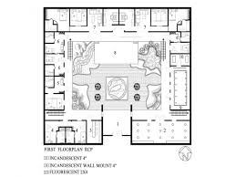 center courtyard house plans small house plans with courtyards home design