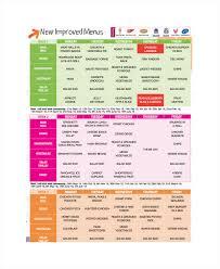 sample menu template 8 free documents download in word pdf