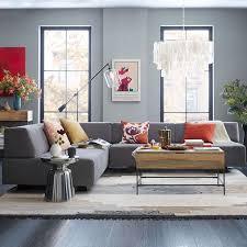 Magnetic Sofa Cloud Living Room Tillary 8 Piece Sectional West Elm Sofa 6 Modular