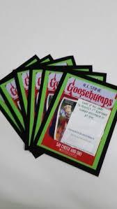 printable goosebumps bookmarks goosebumps birthday invitation goosebumps 7th birthday pinterest