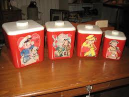 retro kitchen canisters set 178 best vintage kitchen canisters images on vintage