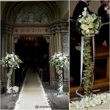 church wedding decor flowers decorating of party