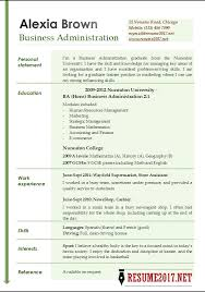 business administration resume examples 2017 u2022