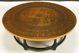 Hammered Copper Dining Table Copper Coffee Table Round Coffee Table Design Ideas