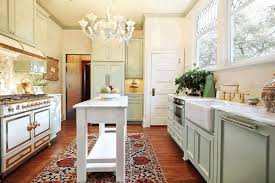 shabby chic kitchen cabinets polished wooden countertop dark brown