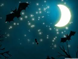 light halloween background halloween night hd desktop wallpaper high definition