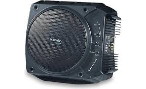 infinity basslink powered subwoofer 200 watts and a 10