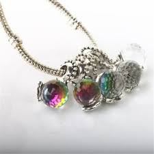 bead necklace ebay images 1pcs charm cz silver beads pendant bracelet necklace accessories jpg
