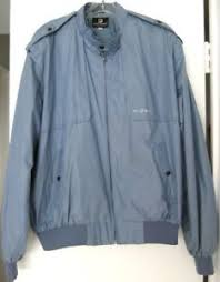 Light Blue Jacket Mens Paco Rabanne Jacket Mens Light Blue Jacket Vintage 1980 U0027s Size L