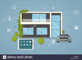 contemporary eco smart house design with remote control from