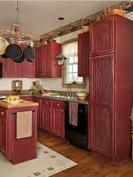 Primitive Kitchen Furniture Learn How To Paint Stock Cabinets For A Custom Country Look