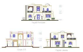 Arabic House Designs And Floor Plans Download Free Autocad Traditional House Dwg Architecture Design