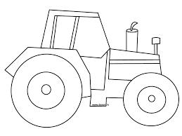easy john deere tractor drawing
