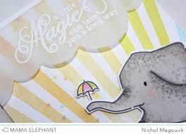 Card Making Magic - nichol spohr llc mama elephant stamp highlight magic moments