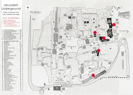 Map Of Jerusalem Crasl Center For Research U0026 Archaeology Of The Southern Levant