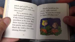 full books free it u0027s the great pumpkin charlie brown youtube