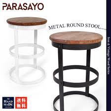 Vintage Metal And Wood Cafe Chair La La Life Rakuten Global Market Stool Iron Wood Iron Chair