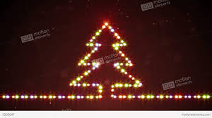 christmas tree shaped lights christmas tree shape lights loopable stock animation 5503647
