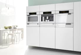 Miele Ovens And Cooktops Miele Brilliant White Another Sign Of Stainless Decline