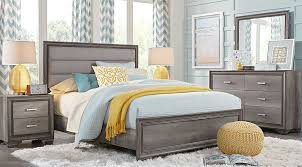 marlow gray 5 pc panel bedroom bedroom sets colors