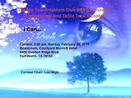 toastmasters table topics tips club contest international speech and table topics tip top