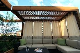 Outdoor Bamboo Curtains Outdoor Privacy Curtain Track Outdoor Privacy Curtains Canada