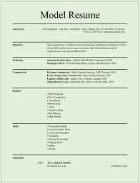 child actor resume sample resume for a model resume for your job application model resume examples child actor resume sample template example