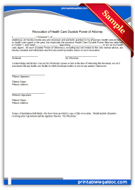 Durable Power Of Attorney For Health Care Form by Health Care Archives Sample Printable Legal Forms For Attorney