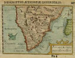Map South Africa South Africa Africae Pars Meridionalior Michael Jennings