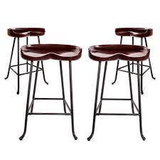 barstools set of four wright table co tractor seat stools decor