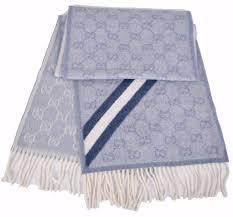 new gucci women u0027s 295225 nikky wool angora gg guccissima scarf