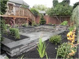 backyards outstanding tropical backyard garden ideas design 129