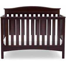 Convertible Cribs Walmart by Delta Children Baker 4 In 1 Convertible Crib Dark Chocolate